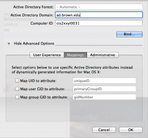 how to connect mac to active directory
