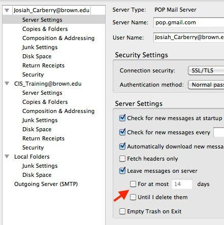 Back Up Your Mail on Your Computer using Thunderbird